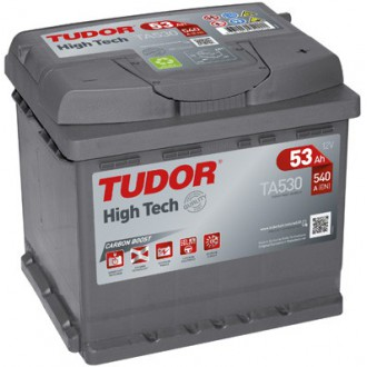 "Batteria Auto Tudor High Tech   TA 530 ""53 Ah """