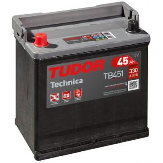 """Batteria Auto Tudor Technica   TB 451  """"45Ah """""""
