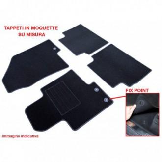 Set completo di tappeti in moquette su misura   Renault   Captur