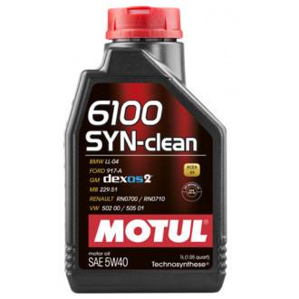 Olio  motore  Motul  SYN Clean   5W40   Sintetico 100%