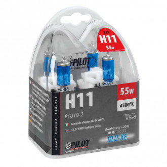 Lampada alogena Pilot Blu-Xe 12V - H11...
