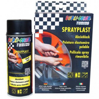 SPRAYPLAST Pellicola spray rimovibile nero opaco