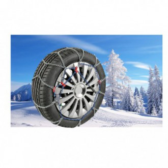Catena da neve ultrasottili SLIMGRIP 7 mm Gr 10