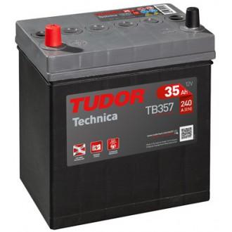 """Batteria Auto Tudor Technica   TB 357 """"35 Ah """""""