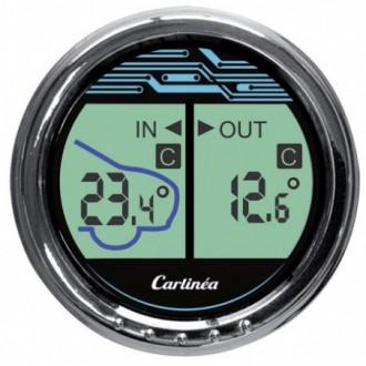 Termometro interno / esterno lcd da Cruscotto