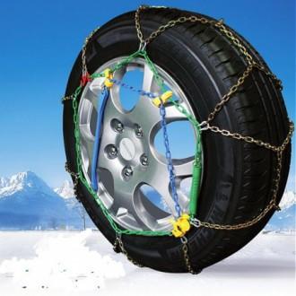 Catena auto da neve omologate  GRIP TECH 9 mm...