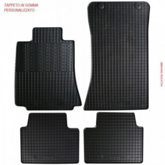 Tappeti gomma FIAT 500 07-15