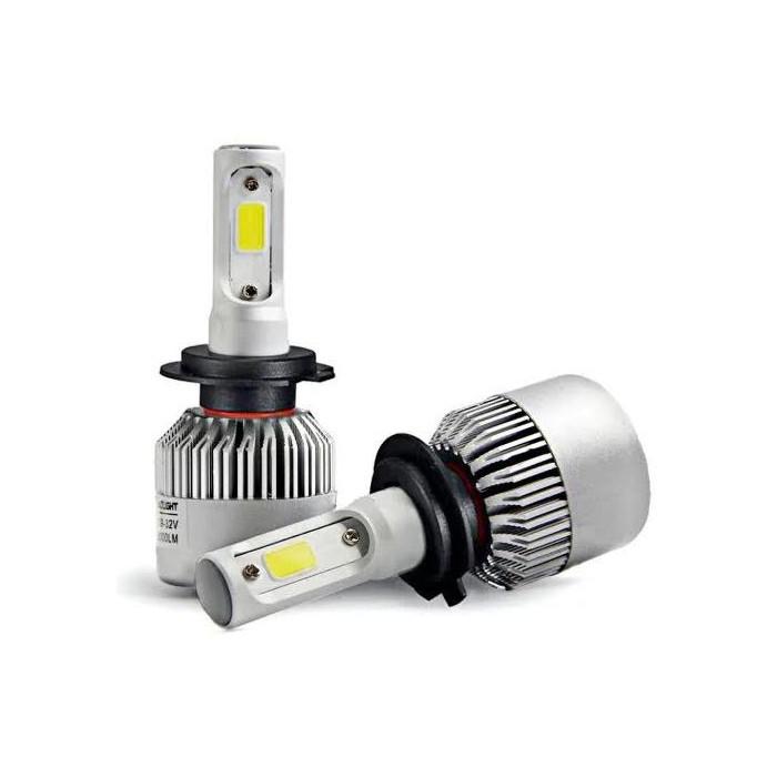 Kit 2 lampadine a led headlight h7 for Lampadine h7 led