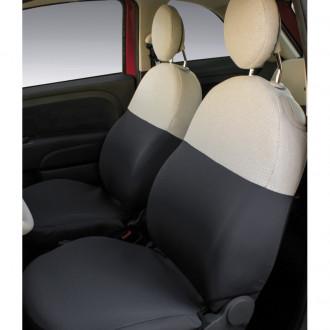 Coprisedili anteriori personalizzati Fiat 500...
