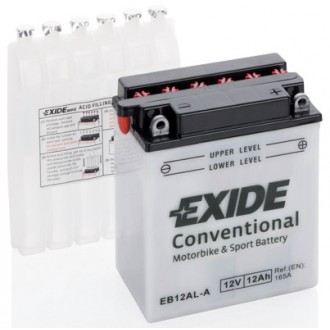Batteria Moto e Scooter EXIDE BIKE EB12AL-A...