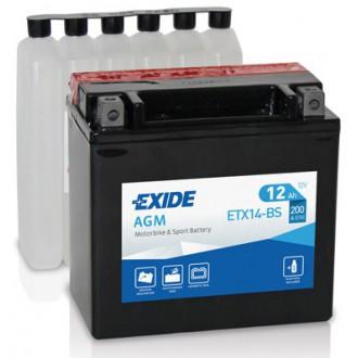Batteria Moto e Scooter EXIDE Bike ETX14-BS...