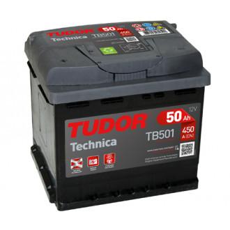 """Batteria auto Tudor TB 501 """"50 Ah"""""""