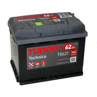 """Batteria Auto Tudor Technica   TB 621 """"62 Ah """""""