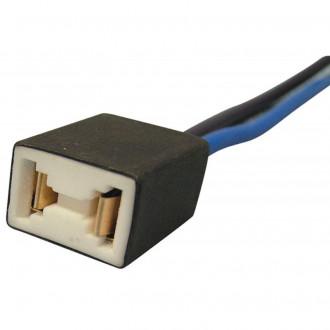 Connettore ceramico per lampade H7 uscita dritta