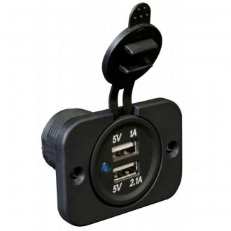 Doppia presa USB 5V/1A - 5V/2.1A