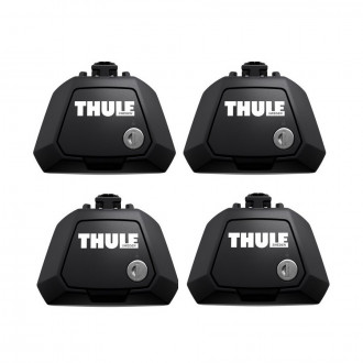 Set 4 piedi Thule  Evo Raised Rail 7104 per...