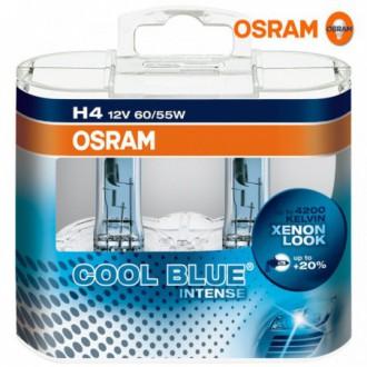 OSRAM COOL BLUE INTENSE H4 Lampada alogena per...