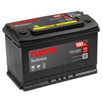 """Batteria Auto Tudor Technica   TB 1000 """" 100 Ah """""""