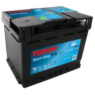 Batteria Auto Tudor  EFB  TL 600   Start-Stop...
