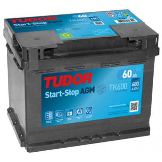 Batteria Auto Tudor  AGM  TK 600   Start&Stop...