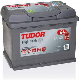 "Batteria Auto Tudor HighTech   TA 640  "" 64 Ah """