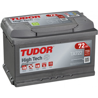 "Batteria Auto Tudor High Tech   TA 722    ""72 Ah """