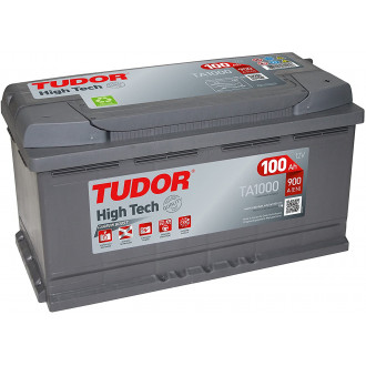 "Batteria Auto Tudor High Tech  TA 1000 ""  100 Ah """