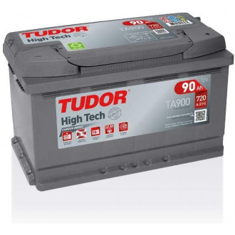 "Batteria Auto Tudor High Tech   TA 900 ""  90 Ah """
