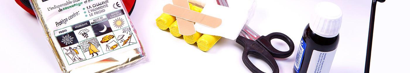 Vendita di cassette e kit di primo soccorso per emergenze stradali